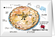 Holiday Pi Day Card
