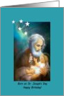 Saint Joseph&rsquo;s Day Birthday Greeting card, Feast Day of St. Joseph card