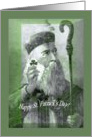 image of St.Patrick Saint Patrick religious card