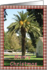 Merry Christmas Palm Tree card
