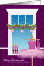 Christmas Like a Daughter Ballet Dance card