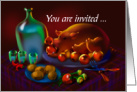 Pig Roast Invitation card