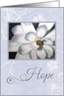 Blue Hope for Cancer card