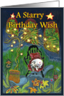 A Starry Birthday Wish card
