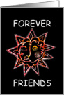 Forever Friends Sunface card