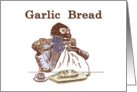 Garlic Bread Recipe Card