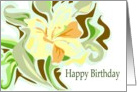 Daylily Birthday Card