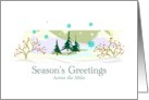 Season's Greetings Across the Miles card