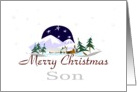 Merry Christmas Son card