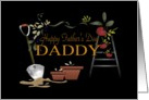 Gardening Daddy Father's Day card