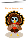 happy thanksgiving, turkey card