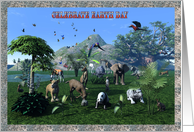Earth Day - Wild Animals card