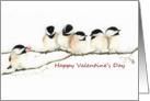 Chickadee's Offer My Heart Valentine card