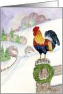 Christmas Welcome card