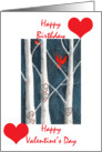 valentine day birthday card