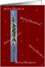 Merry Christmas, Lone Tree card