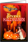 French Joyeux Halloween card