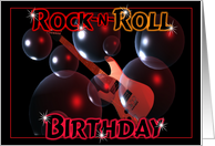 Rock-n-Roll Birthday card