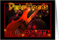 Dead heads Halloween card