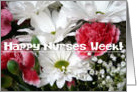 Happy Nurses Week!-Bright Beautiful Flowers card