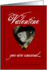 Happy Valentine&rsquo;s Day+Funny and unusual-Iguana in a heart card