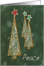 Peace Trees-Christmas/Holiday card