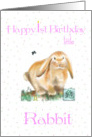 1st Birthday/ Rabbit Child-Chinese Astrology card