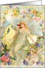 Fairy Friends, Cherubs & angels card
