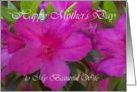 Mothers Day Wife Azalea 1 card