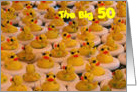 Cool Rubber Duckies 50th Birthday Card