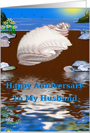 Happy Anniversary / Husband card
