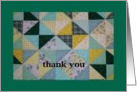 Thank you - blank inside card