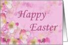 Cherry Blossom Easter Card