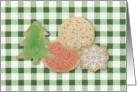 Christmas Cookie Swap Invitation card