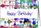 Color Splash Birthday Card
