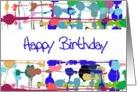 Color Splash Birthday Card