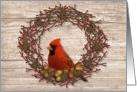 Business Wreath Christmas Card
