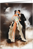 Being with you is like... -love, romance, wedding card