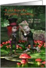 I just know I'm forgetting something-Mad Hatter, Humor, Birthday card