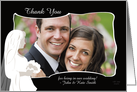Bridal Photo Card - Thank You for Attending Our Wedding Photo Card