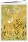 Birthday - Daughter - Butterfly - Digital Art card