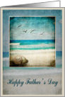 Father's Day Sea Beach card