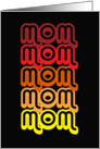 Rainbow Mom Happy Mother's Day card
