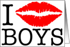 i kiss boys card