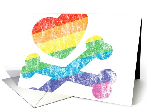 congratulations on coming out! card