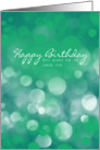 Business Birthday Card, Best Wishes For The Coming Year card