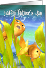 Goldfish Father's Day Card - Goldfish Card For Father's Day card