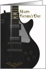 Father's Day Card With Guitar card