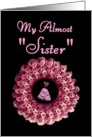 Future Sister-in-Law - Be My Maid of Honor - Rose Wreath card