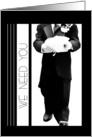 Please Be My Ring Bearer (Wedding) card